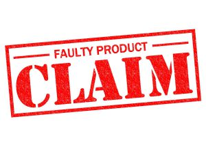 Types of Defective Product Claims